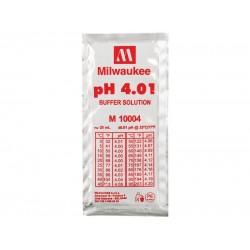 pH4 calibrating solution 20ml sachet