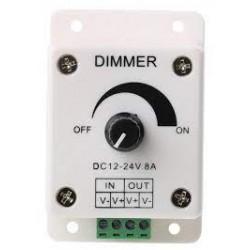 LED Dimmer Switch DC 12-24V, 8A