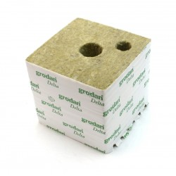 Rockwool propagation cubes GRODAN Delta, 15 x 15 cm