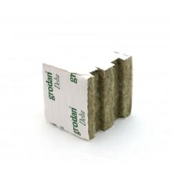 Rockwool cube 20x20x20, Speedgrow Green,  hole 38x35mm