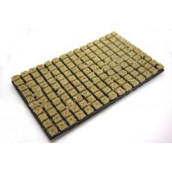 Rockwool cubes on tray 53x31cm, 25x25mm, 150pcs