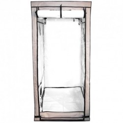 Black Box Silver Premium White 80x80x180cm