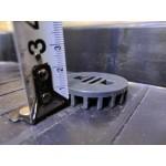 20mm Low Direct Tank Drainage, Drain, PVC, Black