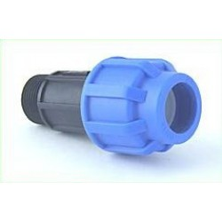 Coupler: 20mm hose - 3/4