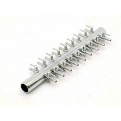 Air Manifold, Metal 18 outlets bulb 4 / 6mm