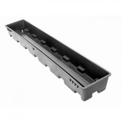Rockwool tray, for slabs 100x15x7.5cm