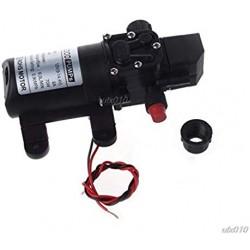 Pump DC 12V, 60W, 0.8Mpa, 5L/Min, Micro Diaphragm Pump + Adapter