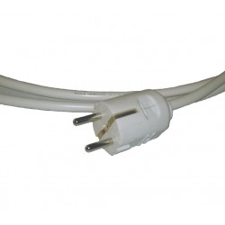 Cable with plug (3x1.5mm2) 2m