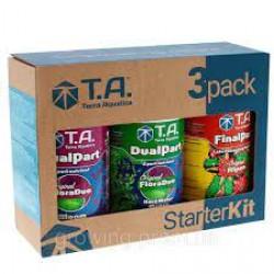 T.A. DualPart, StarterKit, Hard Water (ex. GHE Tripack Flora Duo HW Ripen)