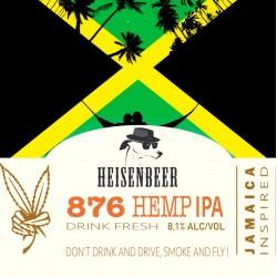 876 Hemp IPA beer