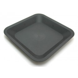Saucer for square pot 25x25 cm