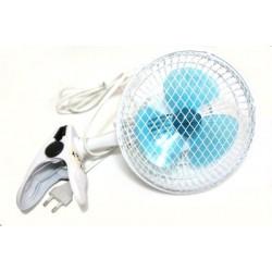 Clip fan 2-in-1
