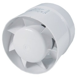 Ventilution Axial fan 100mm, 105m3/h, step connection
